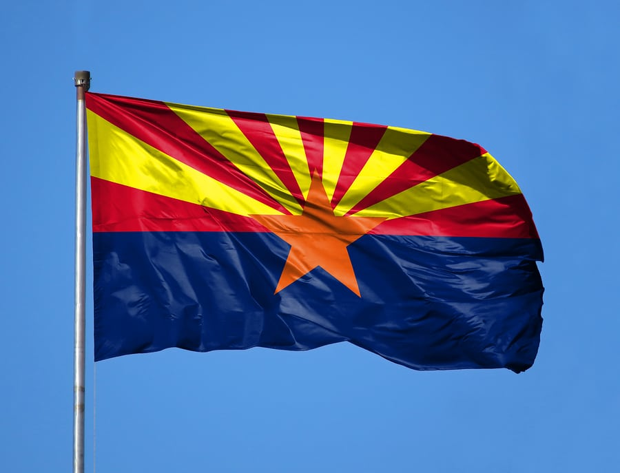 National Flag State Of Arizona